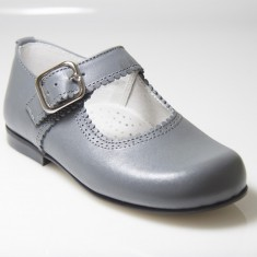 Merceditas piel  (León Shoes) T. 24-29